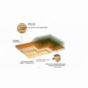 Tarima flotante A 14,90 €/m2 - Sucupira Elegance Plus 3 Lamas Satinado